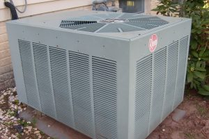 Air Conditioner Unit Outside